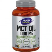 MCT Oil 1000mg Now Foods