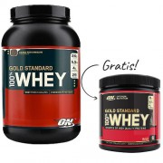 100% Whey Gold Standard + Free Whey Gold 180gr