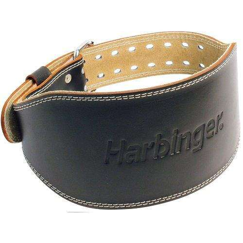 6 Inch Padded Leather Belt