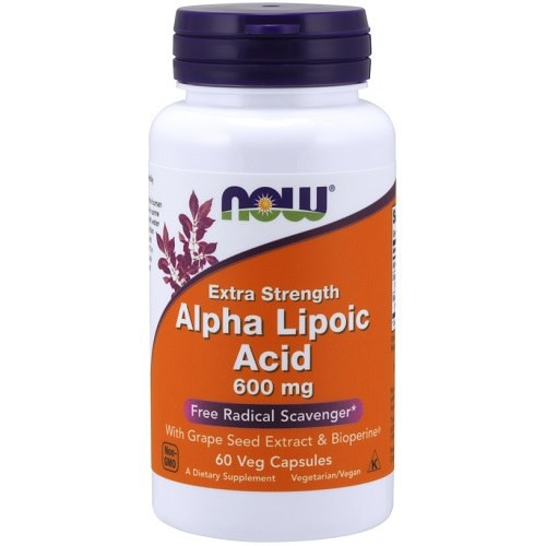 Alpha Lipoic Acid 600mg Now Foods