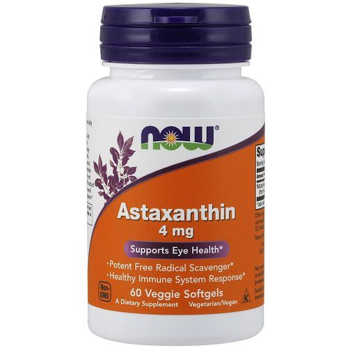 Astaxanthine 4mg Now Foods