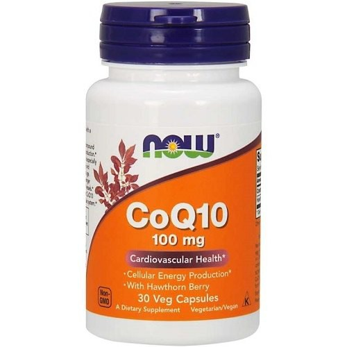 CoQ10 100mg with Hawthorn Berry
