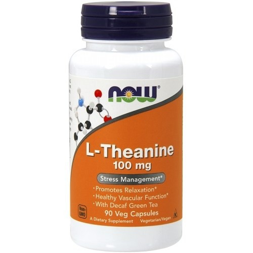 L-Theanine 100mg Now Foods