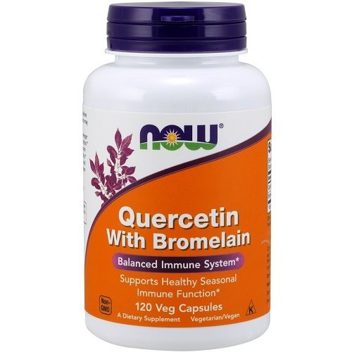 Quercetin with Bromelain