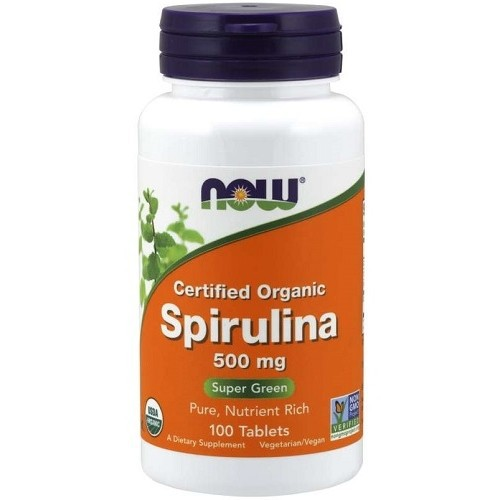 Spirulina 500mg Now Foods