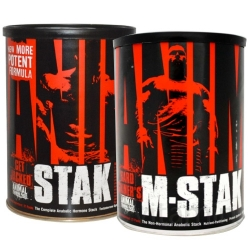 #Pack 4: Animal M-Stak & Stak