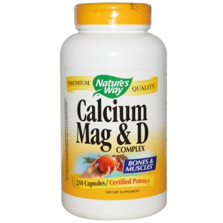 Calcium, Mag & D Complex Nature's Way