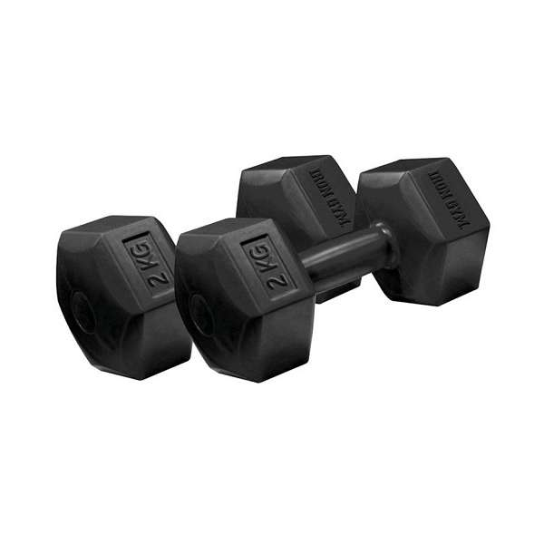 Fixed Hex Dumbbell Set