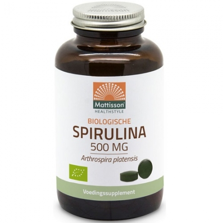 Absolute Spirulina 500mg Bio