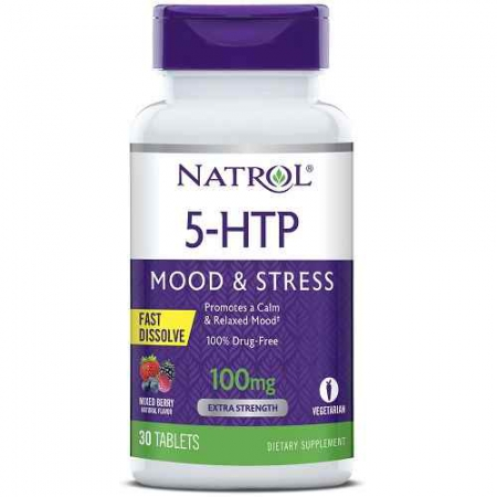 5-HTP 100mg Fast Disolve
