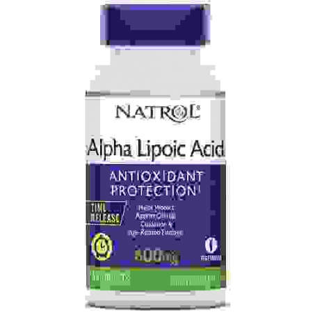 Alpha Lipoic Acid, Time Release 600mg