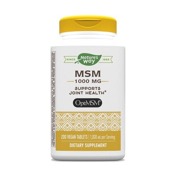 MSM 1000mg Nature's Way