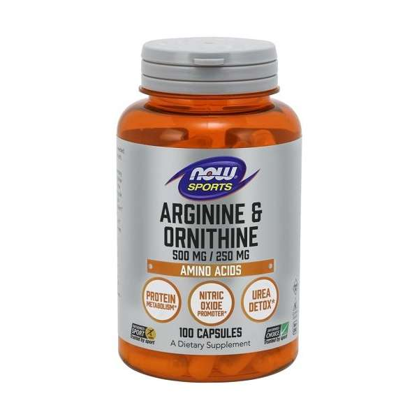 Arginine & Ornithine 500/250mg