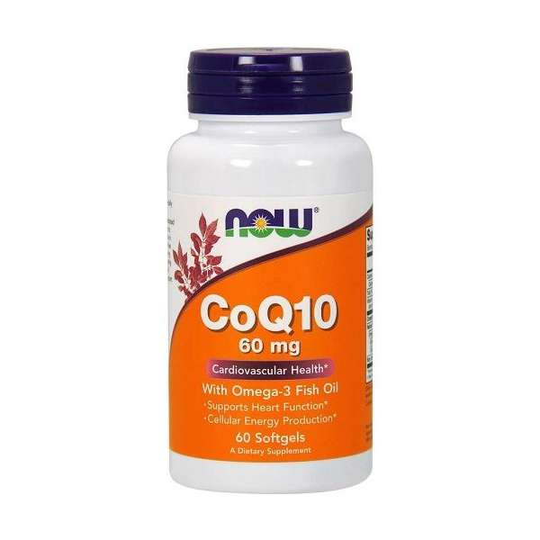 CoQ10 60mg w/Omega-3 Fish Oil