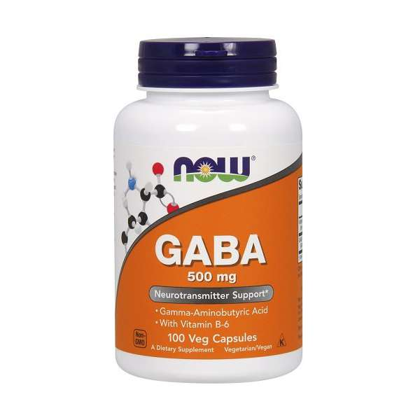 GABA 500mg Now Foods