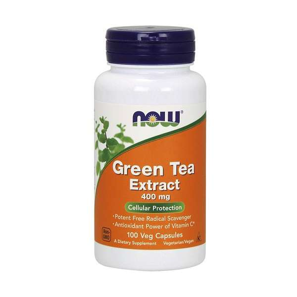 Green Tea Extract 400mg Now Foods