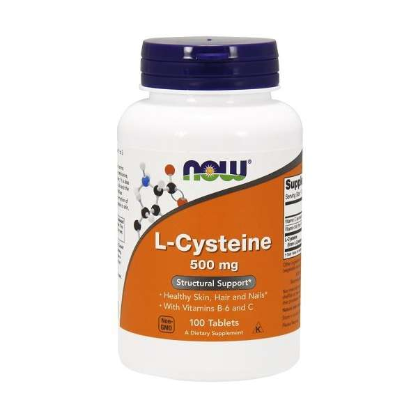 L-Cysteine 500mg Now Foods