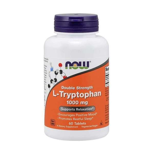 L-Tryptophan Double Strength 1000mg