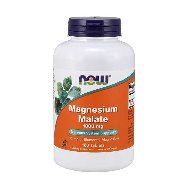 Magnesium Malate 1000mg Now Foods