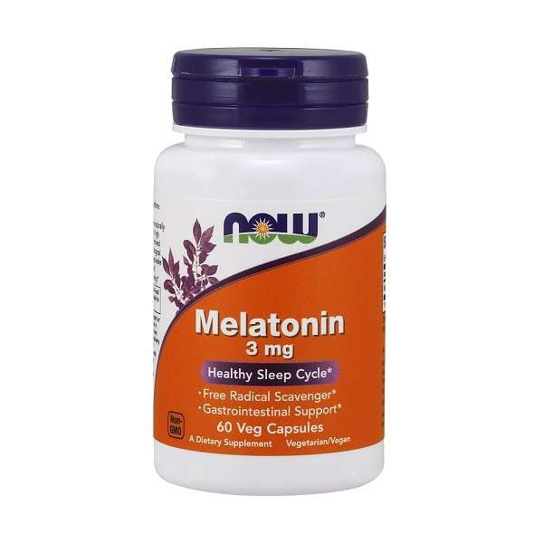 Melatonine 3mg Now Foods