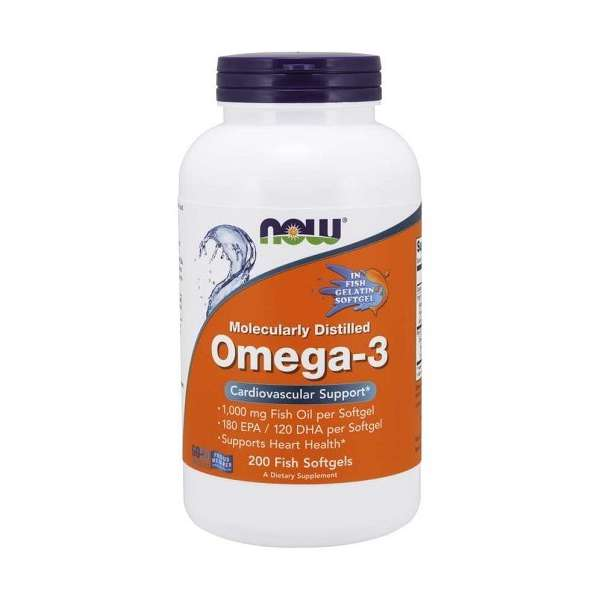 Omega-3 Molecularly Distilled Fish Softgels