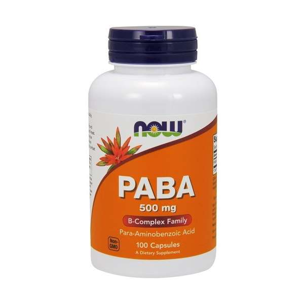 PABA 500mg Now Foods