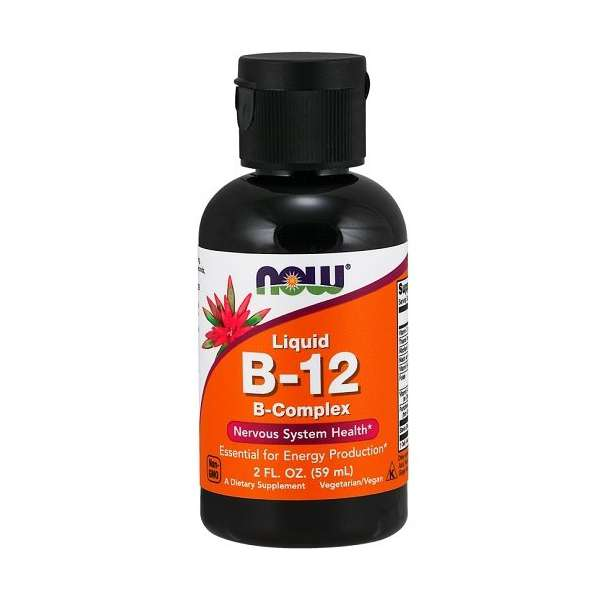 Vitamine B-12 Liquid Now Foods