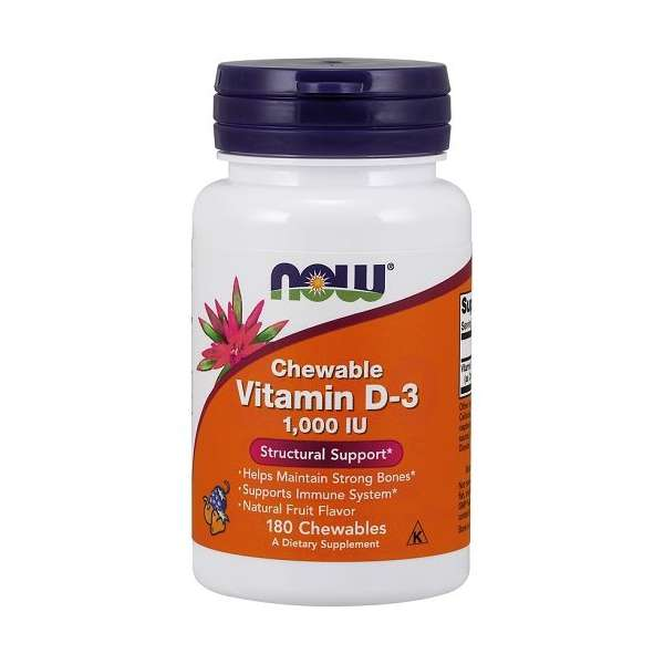 Vitamine D-3 1000IU Chewable