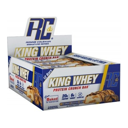 King Whey Protein Crunch Bar