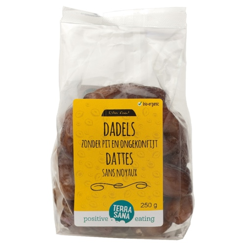 Raw Dadels (Zonder Pit) 750gr