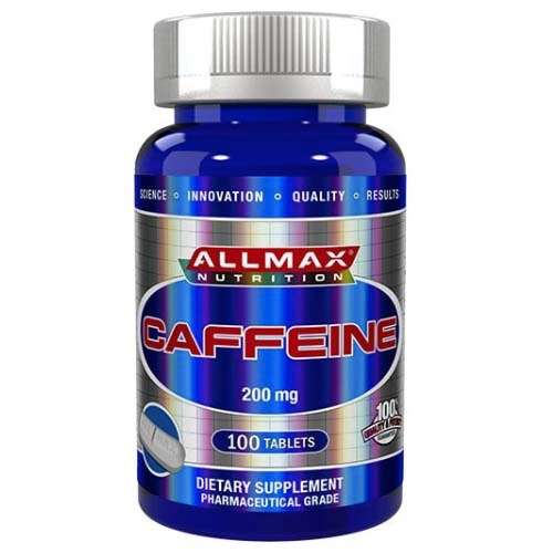 Afbeelding van Caffeine Allmax 100tabl