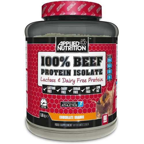 Afbeelding van 100% Beef Isolate 1800gr Strawberry Lime