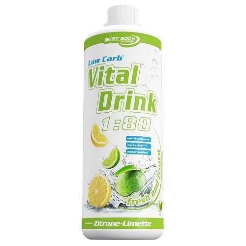Afbeelding van Low Carb Vital Drink 1000ml Lemon Lime