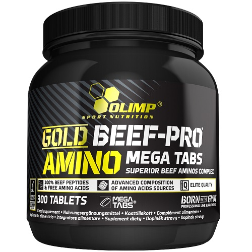 Gold Beef-Pro Amino Mega Tabs 300tabl