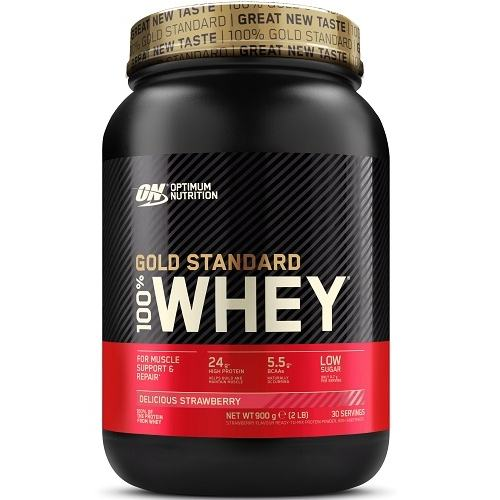 100% Whey Gold Standard 908gr Aardbei