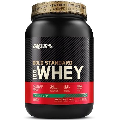100% Whey Gold Standard 908gr Chocolade Mint