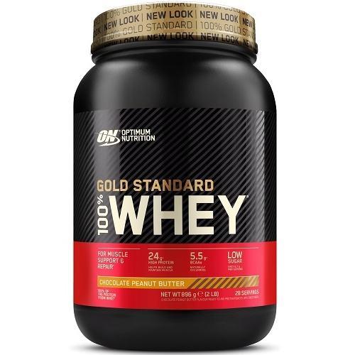 100% Whey Gold Standard 908gr Chocolate Peanut Butter