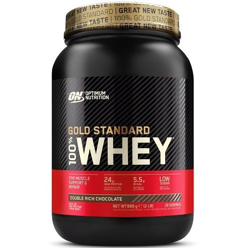 100% Whey Gold Standard 908gr Double Rich Chocolade