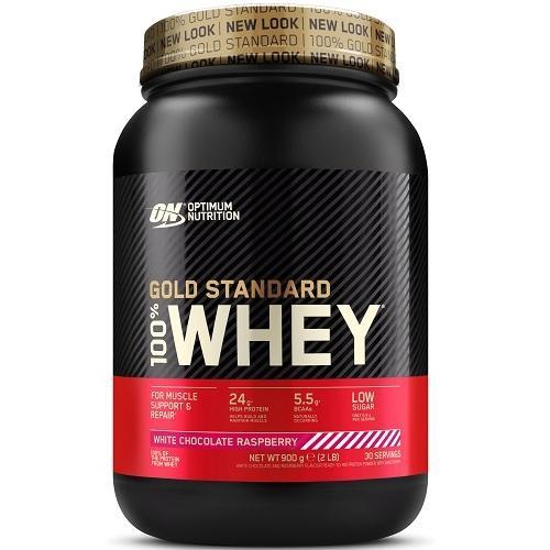 100% Whey Gold Standard 908gr White Choco Raspberry