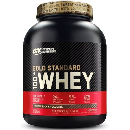 100% Whey Gold Standard 2270gr Double Rich Chocolade