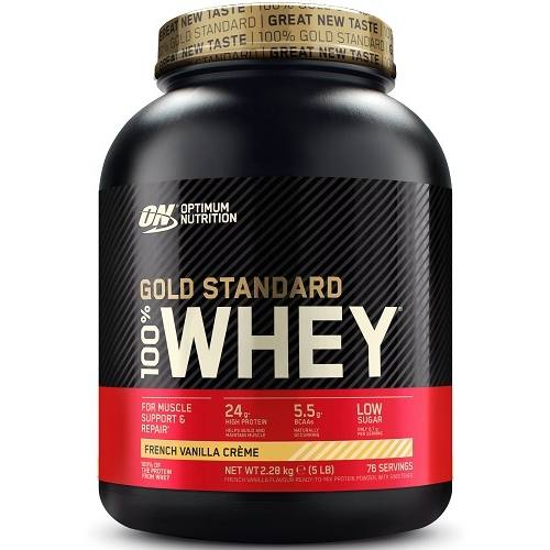 100% Whey Gold Standard 2270gr French Vanille