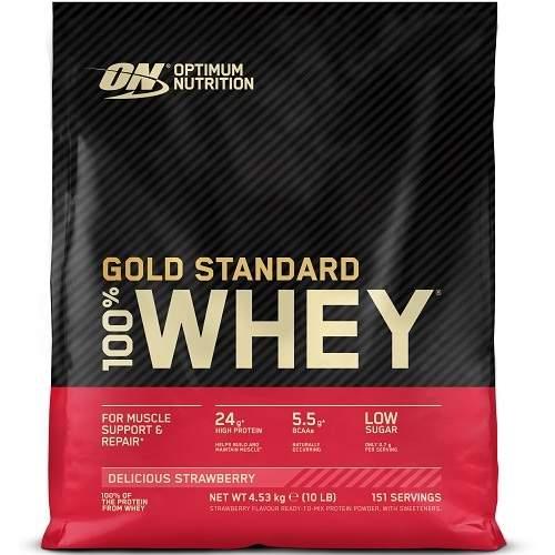 100% Whey Gold Standard 4540gr Aardbei
