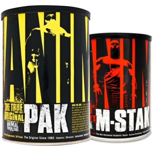 #Universal Pack 1: Animal Pak & M-Stak