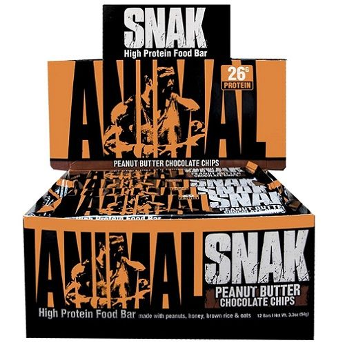 Animal Snak Bar 12repen Rich Chocolate Peanut